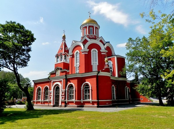 Храм Благовещения в Петровском парке (604x446, 92Kb)