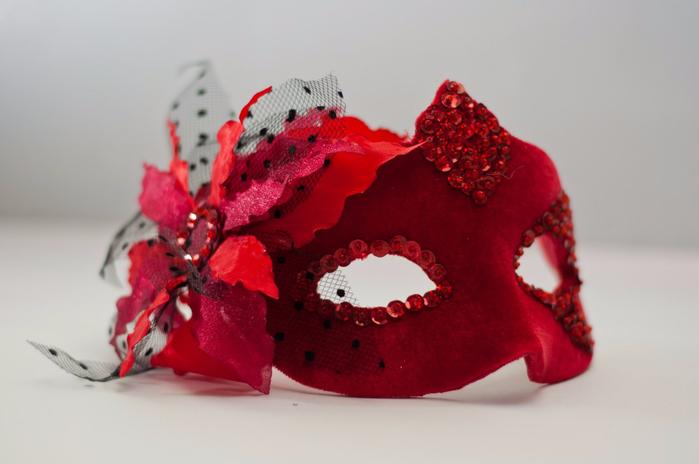 Маскарадные маски для девушки своими руками 73