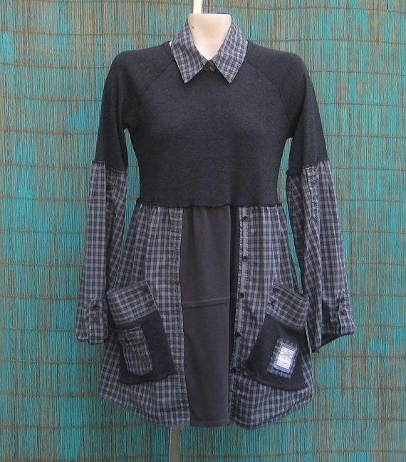 Переделка одежды из старой в стильную своими руками фото