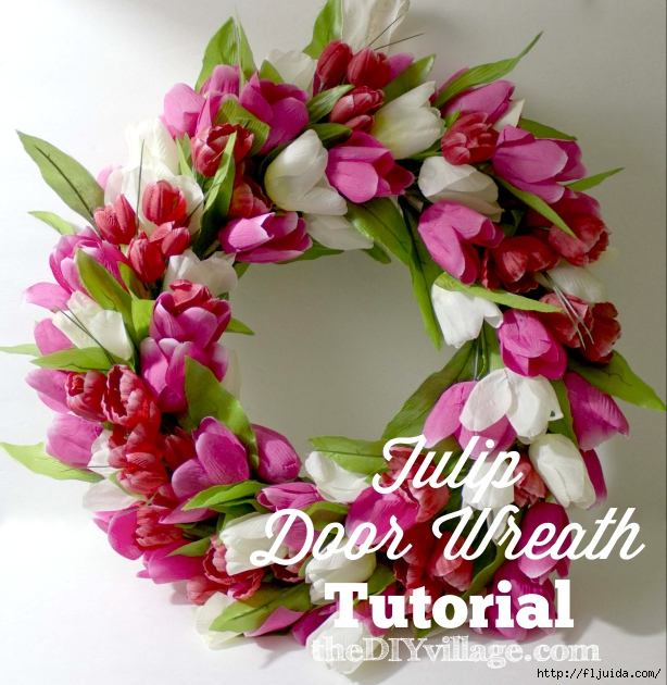 Tulip_Door_Wreath_Tutorial_Spring (614x630, 314Kb)