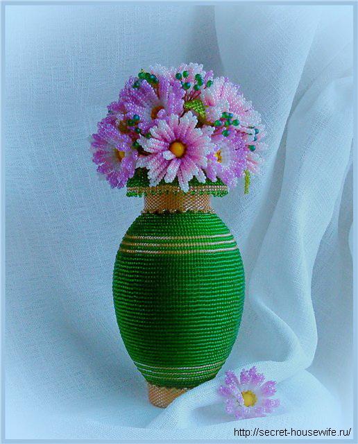 ваз с цветами