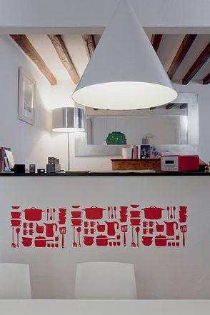 Liveinternet for Stencil parete cucina