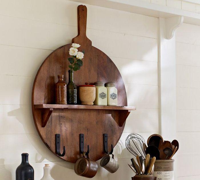 Декоративные полки на кухню своими руками фото 73