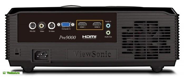 �������� Viewsonic Pro9000 DLP Laser LED Hybrid 1600lumens 1080p (1920 x 1080) 100000 1 2xHDMI 4.3Kg (700x302, 39Kb)