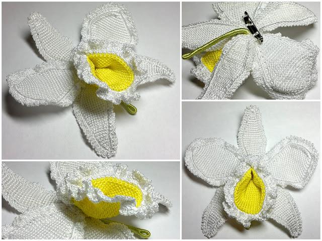"""钩针胸针:""""森雅新的花朵"""" - maomao - 我随心动"""