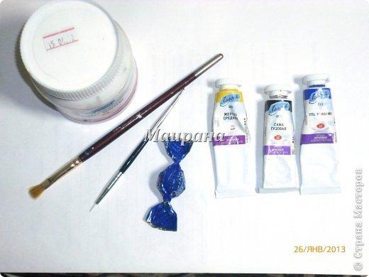 анютины глазки из конфет (2) (520x390, 29Kb)