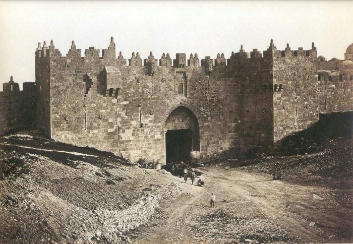 1 Дамасские ворота Иерусалима (700x484, 400Kb)