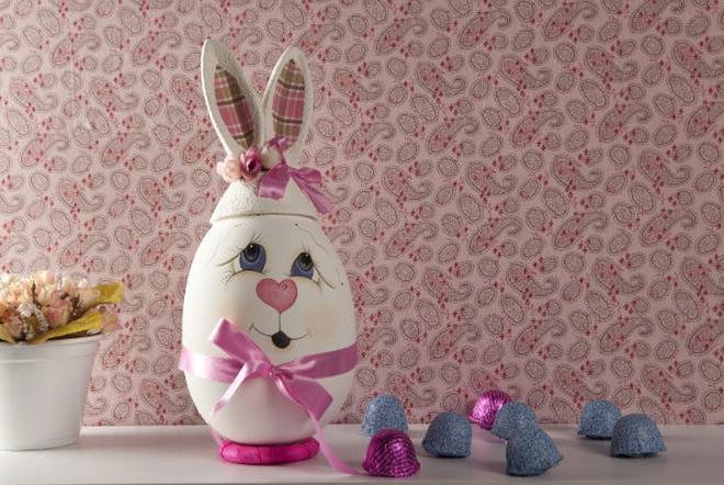 пасхальный заяц из яйца роспись (1) (660x442, 653Kb)