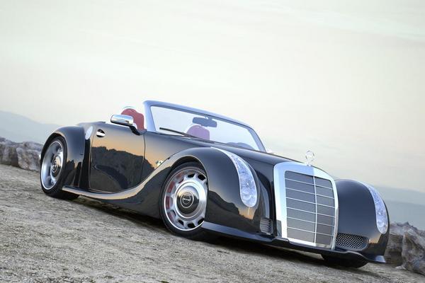 красивый кабриолет Mercedes-bens 300 SC 1 (600x400, 31Kb)
