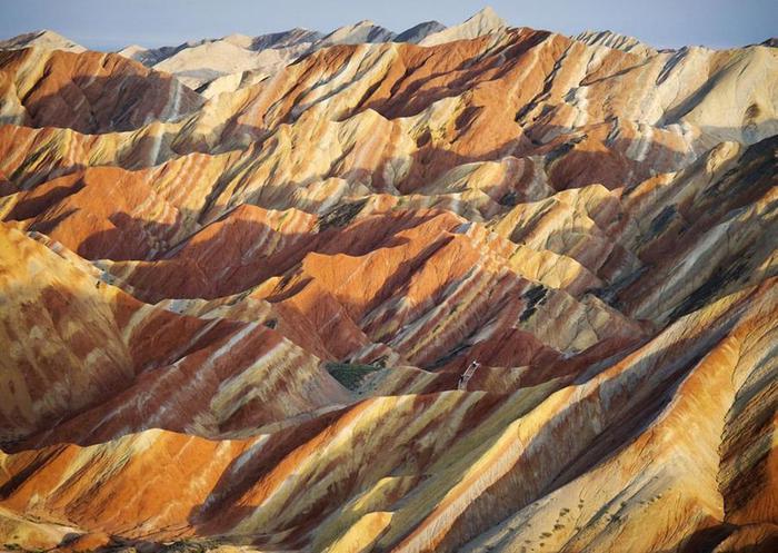 2. Геологический парк в китайской провинции Ганьсу (700x497, 77Kb)
