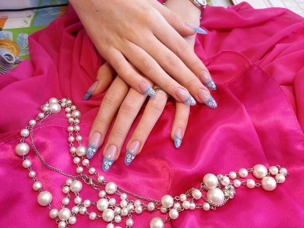 Модный дизайн ногтей – лето 2013 фото