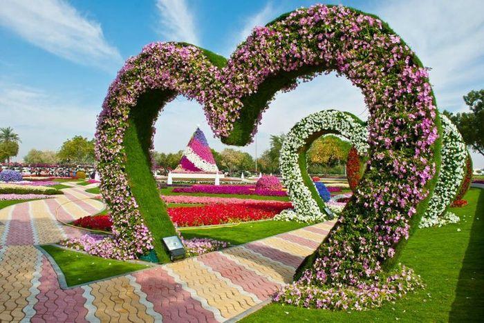 парк цветов  Al Ain Paradise фото 5 (700x468, 98Kb)
