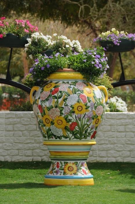 парк цветов  Al Ain Paradise фото 17 (465x700, 275Kb)