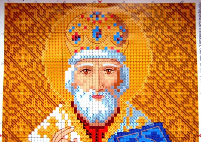 Схемы икон николай чудотворец