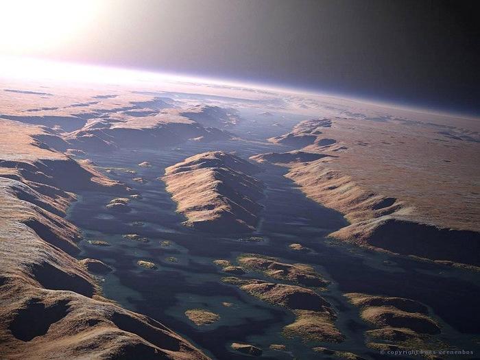 марс Долина Маринера фото 2 (700x525, 136Kb)