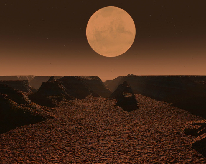 марс Долина Маринера фото 7 (700x559, 131Kb)