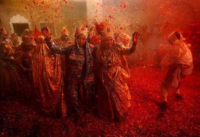 праздник холи в индии 10 (700x479, 153Kb)