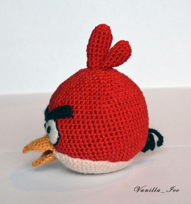 Angry Birds - красная птичка