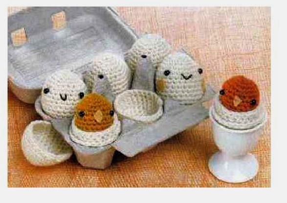 Пасхальный цыпленок от Drops. Вязаные игрушки Постила