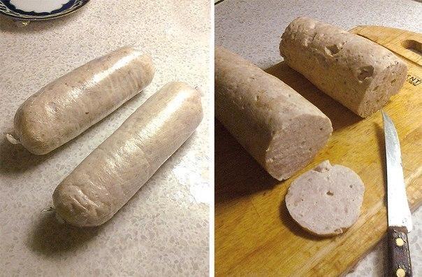 Домашняя варёная колбаса (604x396, 69Kb)