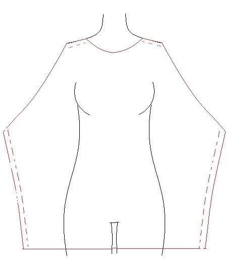 Простое платье своими руками без выкройки
