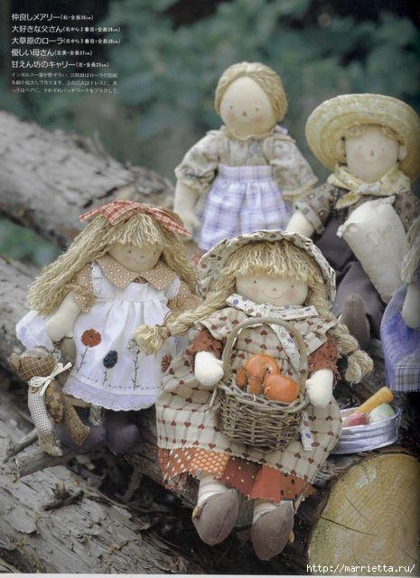 японский журнал с выкройками кукол (8) (465x640, 161Kb)
