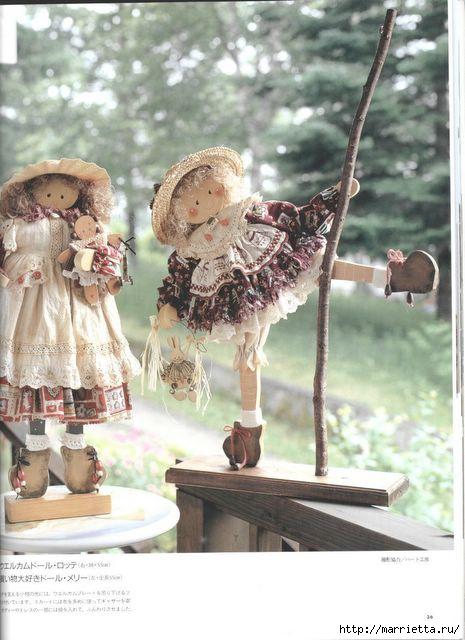 японский журнал с выкройками кукол (37) (465x640, 149Kb)