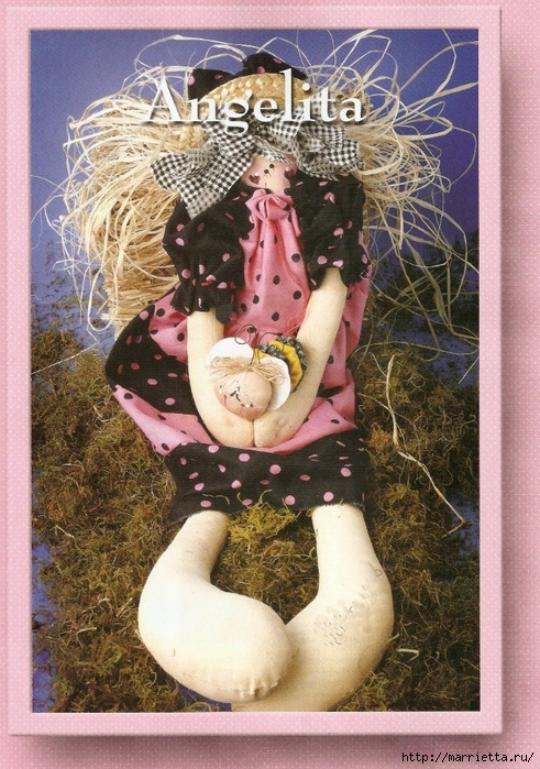 португальский журнал с выкройками кукол и игрушек (19) (491x700, 351Kb)