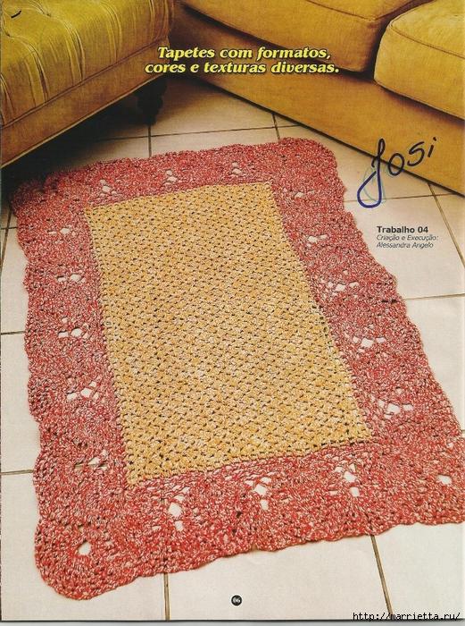вязание крючком. коврики (4) (521x700, 458Kb)