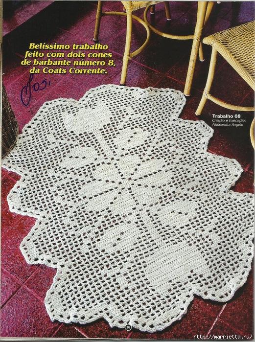 вязание крючком. коврики (8) (521x700, 482Kb)