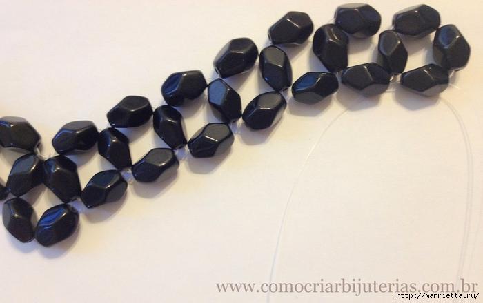 стильное ожерелье из бисера и кристаллов. мастер-класс (11) (700x440, 192Kb)