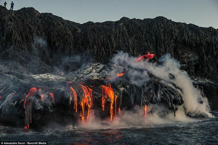 Pedro Oliva вулканическая лава фото 4 (700x466, 99Kb)