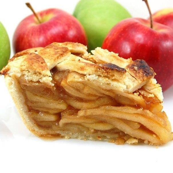 постный яблочный пирог (604x604, 67Kb)