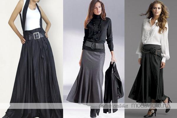 Сшить юбку деловую