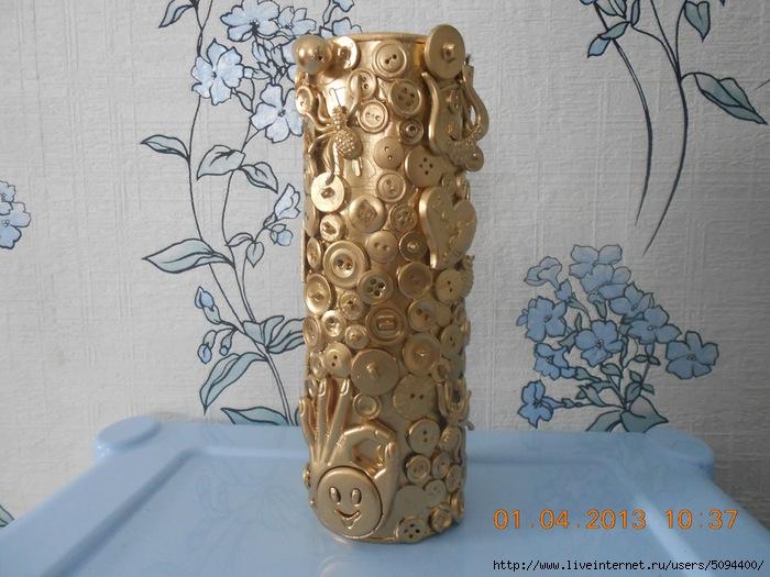 Декор ваза своими руками