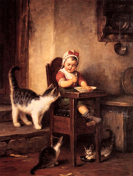 Rudolf Epp (1834 – 1910, German)sweet-tooth (531x700, 335Kb)