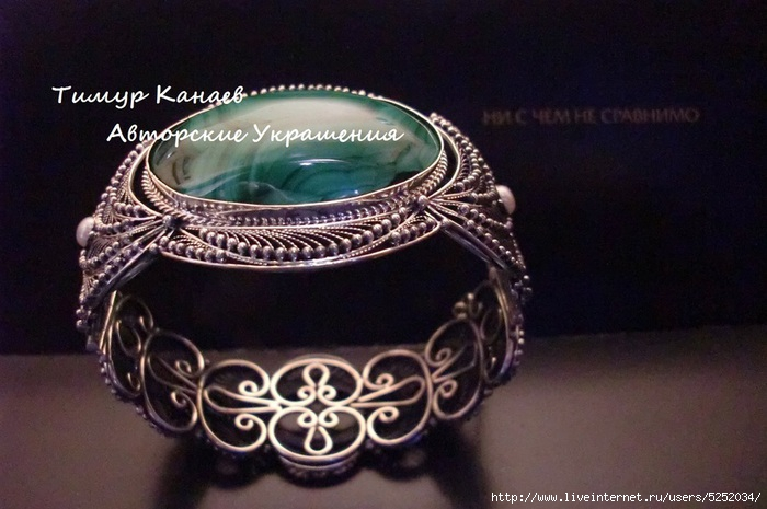 Эксклюзивные ювелирные украшения серебро ручной работы