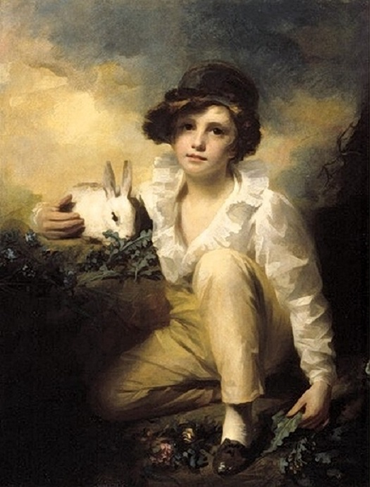 Henry Raeburn Inglis.Boy and Rabbit by , 1814 (525x691, 104Kb)