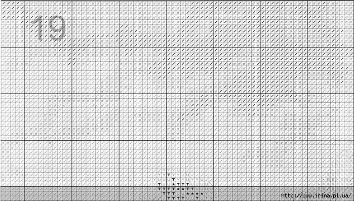 """Схема вышивки крестом  """"Маки у моря """" (Anchor) ."""
