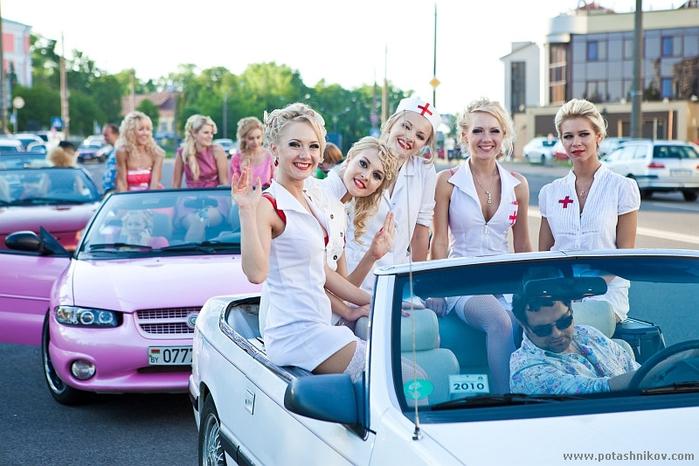 Интересное. Парад Блондинок в Минске. . День с медсестрами (42 фото).