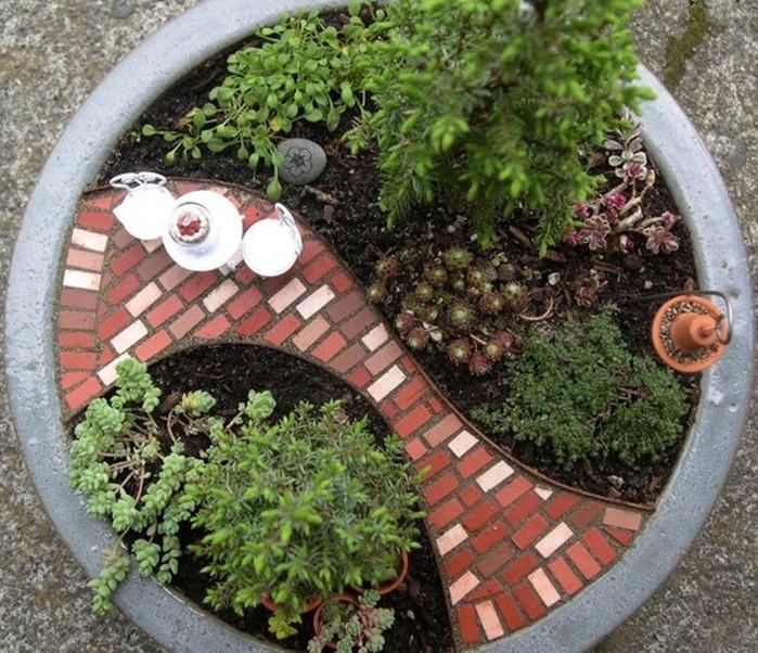 Создание сада своими руками фото