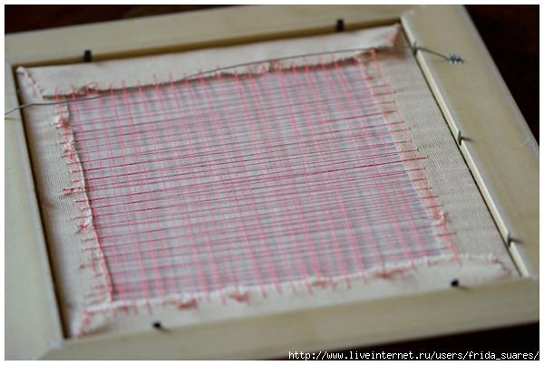 Как вставить вышивку в готовую рамку 88