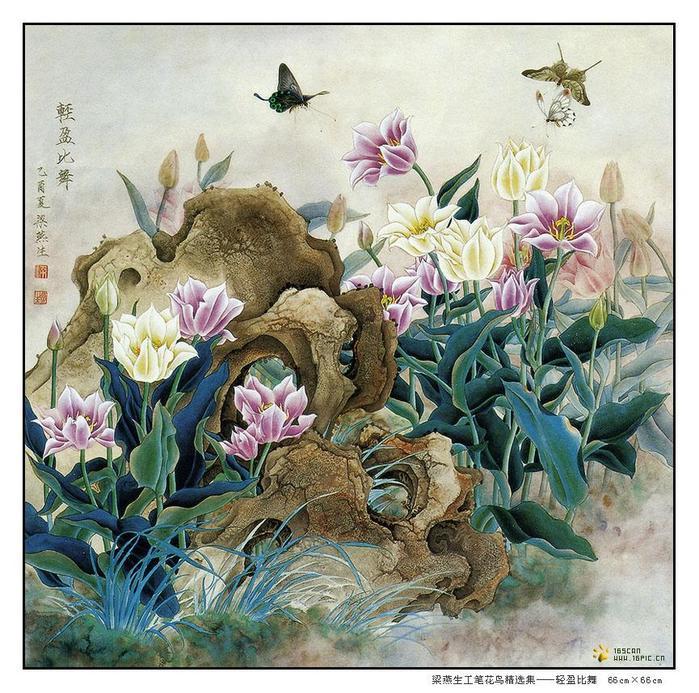 картины художницы Liang Yan Sheng 1 (700x693, 115Kb)