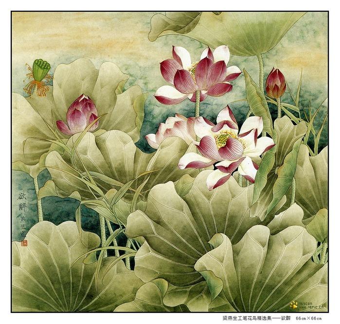 картины художницы Liang Yan Sheng 10 (700x667, 187Kb)