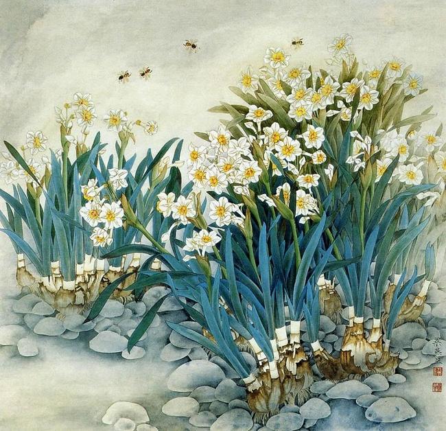 картины художницы Liang Yan Sheng 14 (650x628, 229Kb)