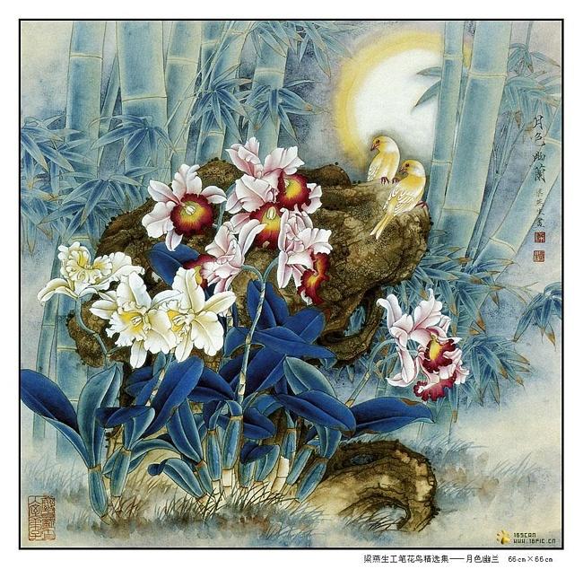 картины художницы Liang Yan Sheng 16 (650x634, 229Kb)