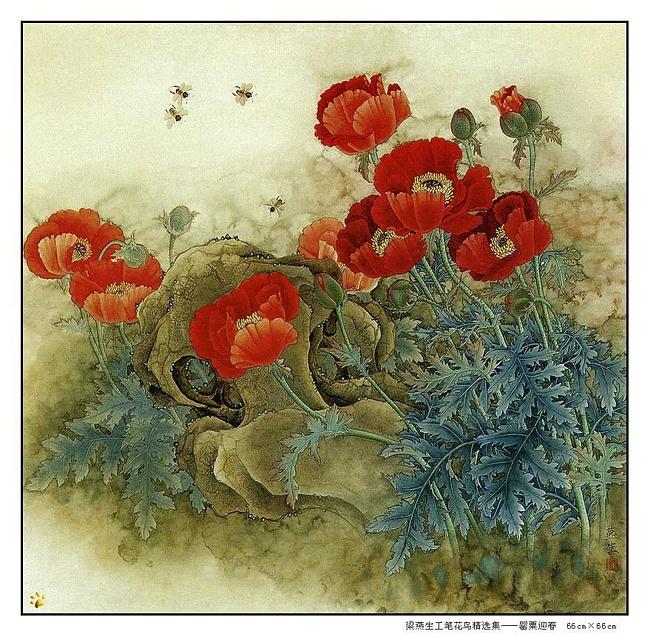 картины художницы Liang Yan Sheng 18 (650x637, 224Kb)