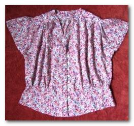 Летняя блузка своими руками