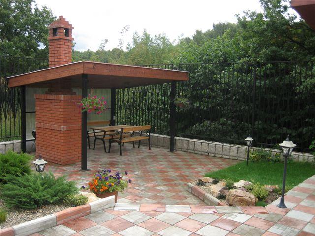 Одним из главных атрибутов современной дачи является садовая беседка - специальная...  Источник.  Идеи для сада от...