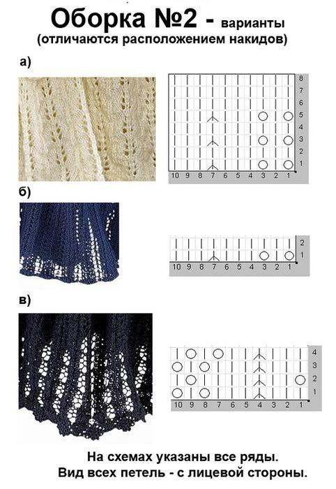 """棒针基础:""""适合织成裙摆的模式"""" - maomao - 我随心动"""